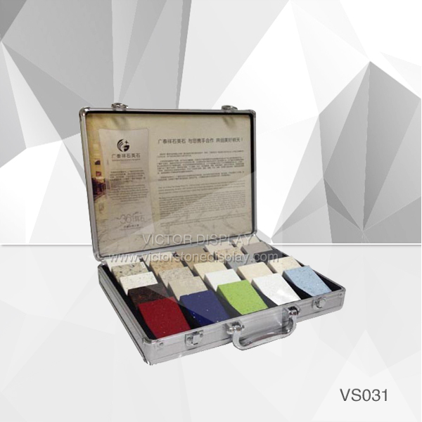 VS031 Quartz Stone Sample Case