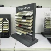 VQ098 Quartz Stone Desktop Display Rack 1