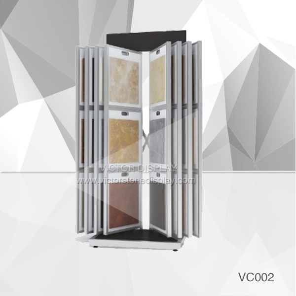VC002 Tile Showroom Display Rack