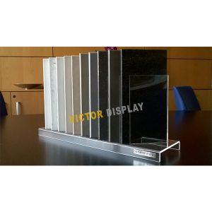 Acrylic Display Stand For Quartz Stone