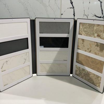 plastic sample books for quartz chips