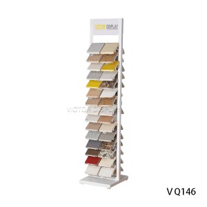 VQ146 Solid Surface sample display stand