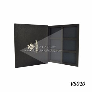 Leather Stone Sample Display Book
