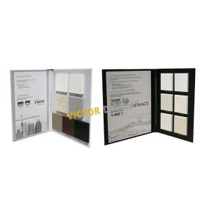 VS105 Solid Surface Sample Display Folders
