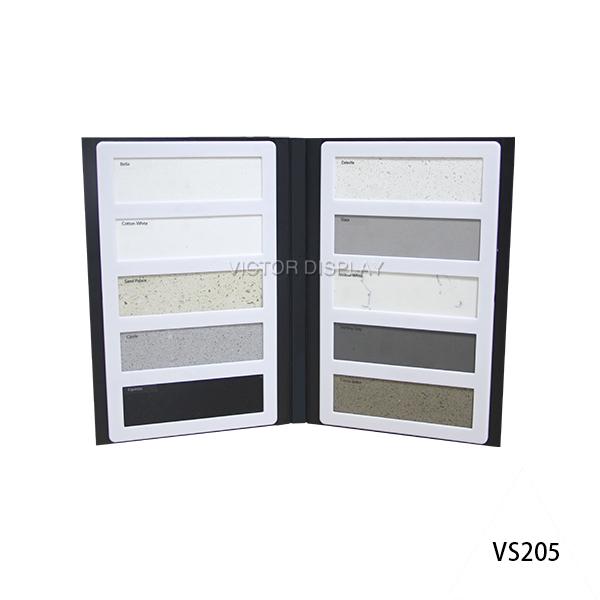 VS205 Quartz Stone Sample Display Books