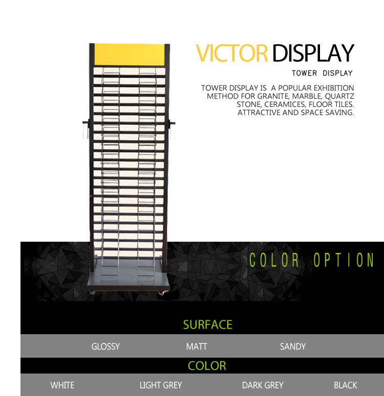 VQ103 Stone Tile Display Stands