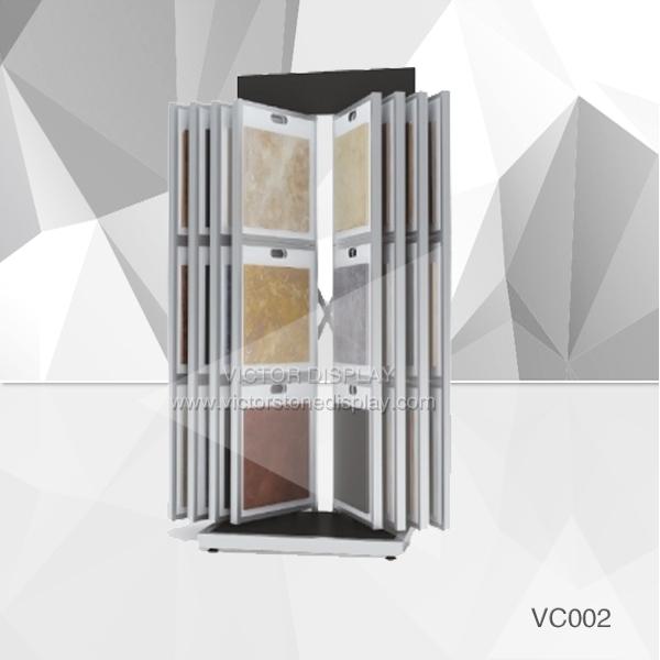 VC002 Tile Showroom Display Rack