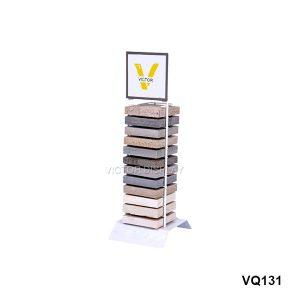 Stone Table Top Display Rack
