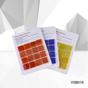 PVC Tile Swatch Card