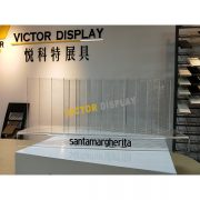 VQ138 Acrylic Display Stand For Quartz Stone