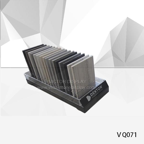 VQ071 Acrylic Stone Table Displays