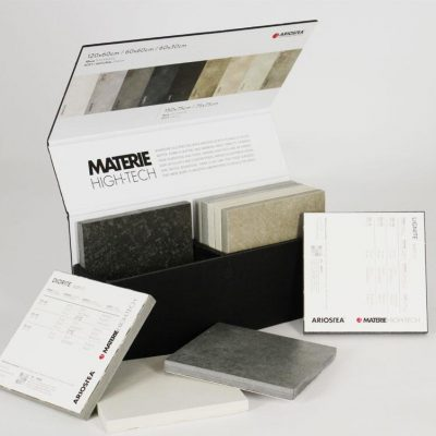 tile sample box