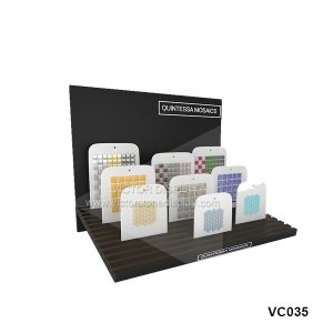 Desktop stand for mosaic tile