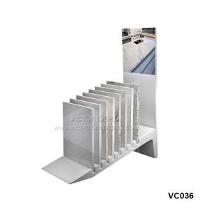 Tile display stand for showroom