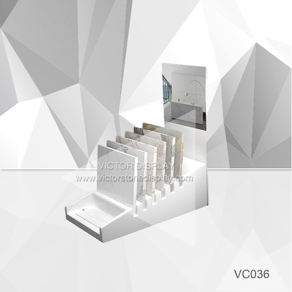 VC036 Tile display stand for showroom