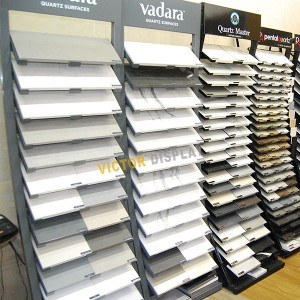 VQ195 Metal Stone Sample Display Tower