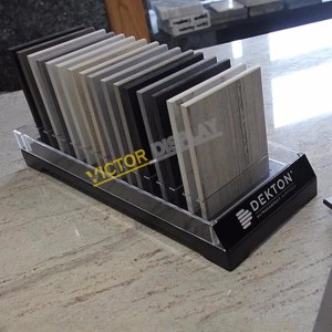 Acrylic Stone Table Displays