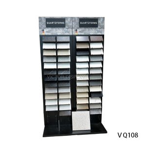 VQ108 Quartz Kitchen Worktops Sample Display Stand