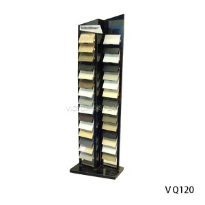 Quartz Stone Display RackVQ120 Quartz Stone Display Rack