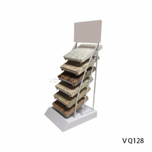 Solid Surface Sample Counter Stand