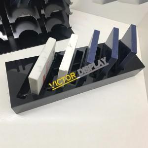 Acylic Quartz Stone Display Rack