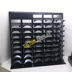 Metal Quartz stone Counter top Display