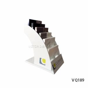 Quartz Stone Countertops Display Rack