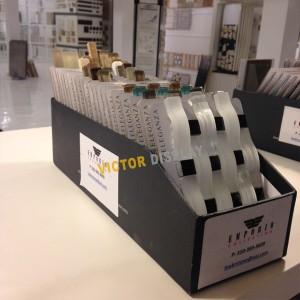 VS060 Mosaic Tile Stone Tabletop Display