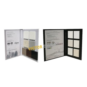 VS105 Solid Surface Sample Display Folders