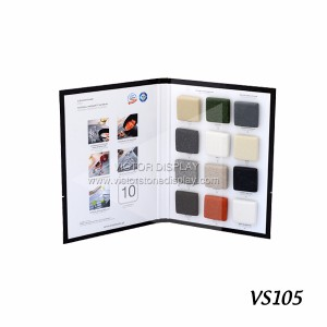 Solid Surface Sample Display Folders
