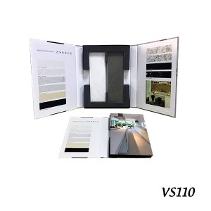 VS110 Tile sample display folder