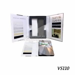 Tile sample display folder